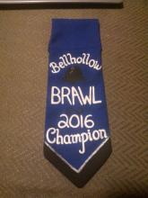 Bellhollow Brawl 2016 Champion's Belt Favour